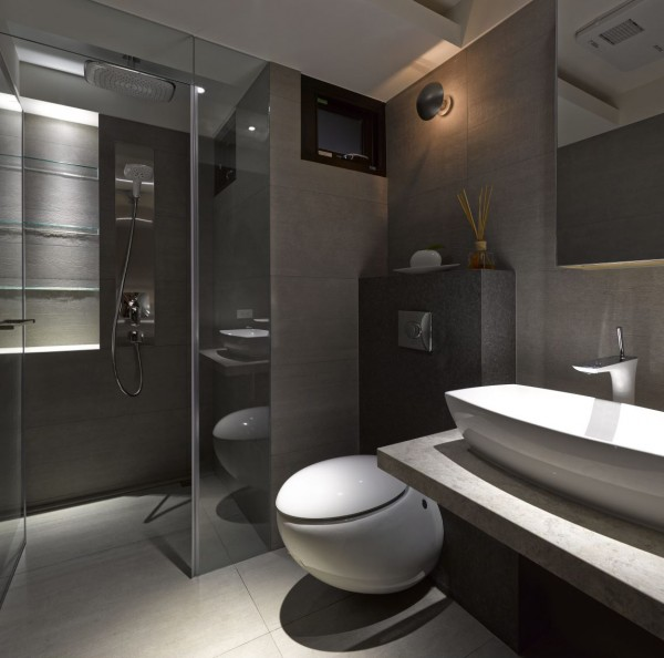 Minimalist luxury from asia 3 stunning homes by free interior for Ultra modern bathroom designs