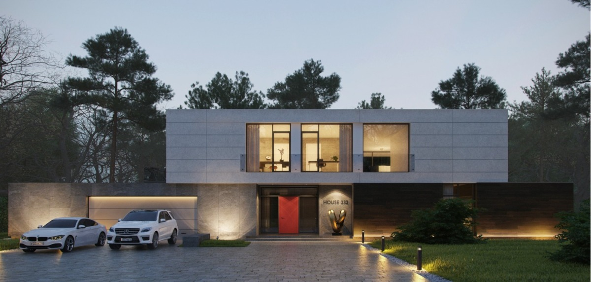 Modern home exteriors with stunning outdoor spaces for Modern contemporary exterior house design