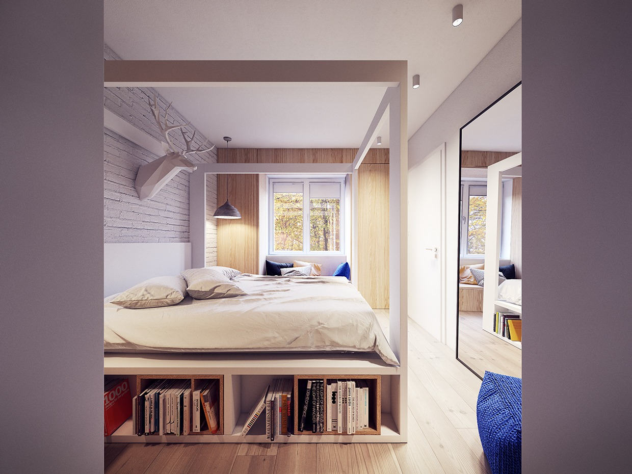 Bedroom Layout Modern