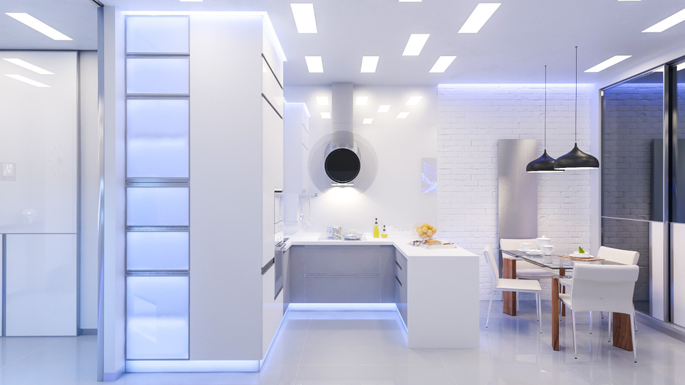 White Brick Wall - 10 modern kitchens that any home chef would envy