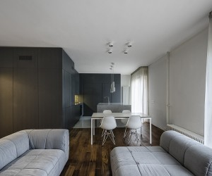 ... Design · Italian Apartment Renovation Brings Open Space To 1960s Home