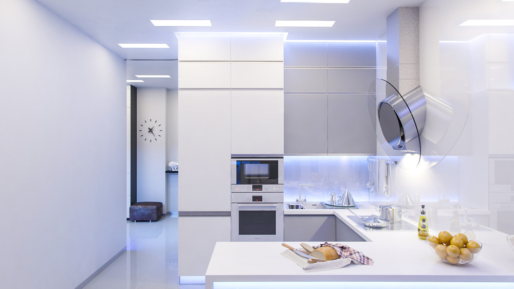 White Interior Design - 10 modern kitchens that any home chef would envy