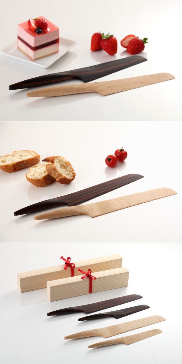 These wooden knives are handmade in Japan and the amazing craftsmanship definitely shines through.