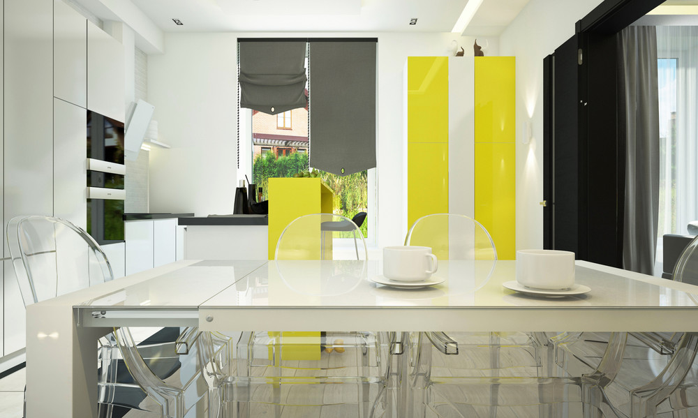 Yellow Cabinetry - 10 modern kitchens that any home chef would envy