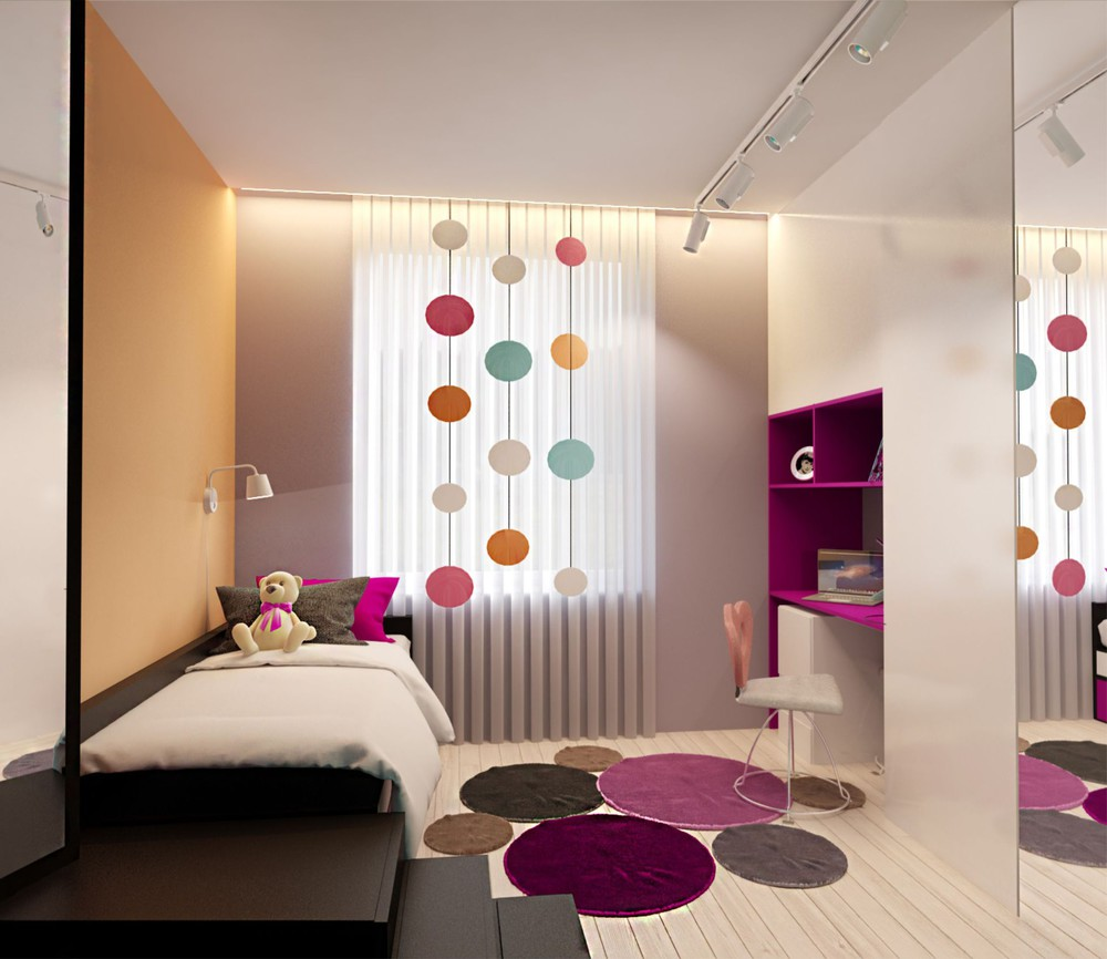 Adorable Bedroom - Creative apartment designs perfect for young families