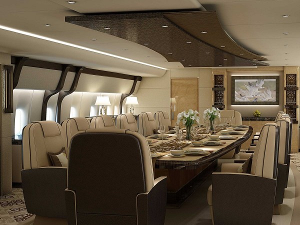 airplane-dining-room