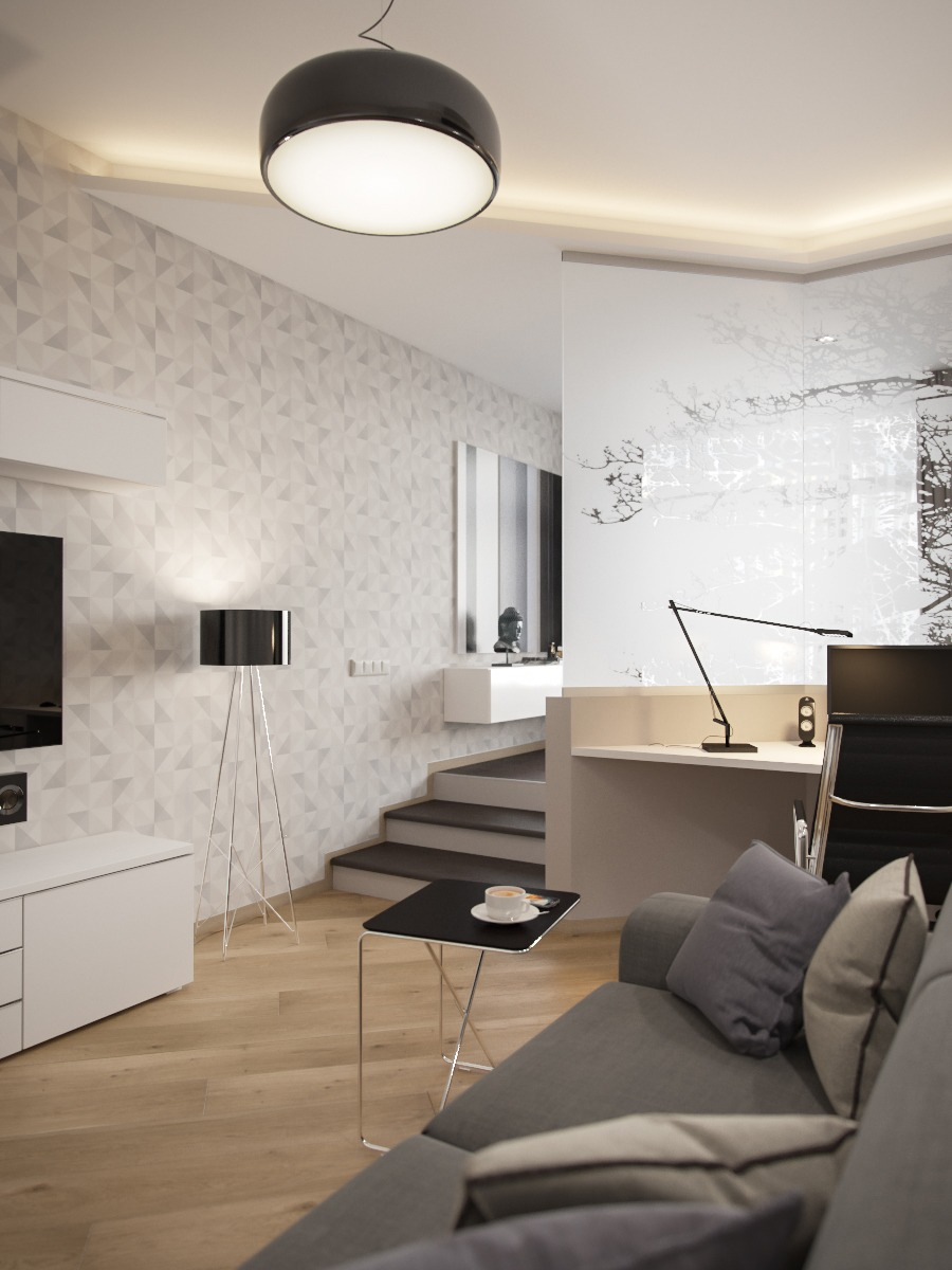 Small Smart Studios With Slick Simple Designs