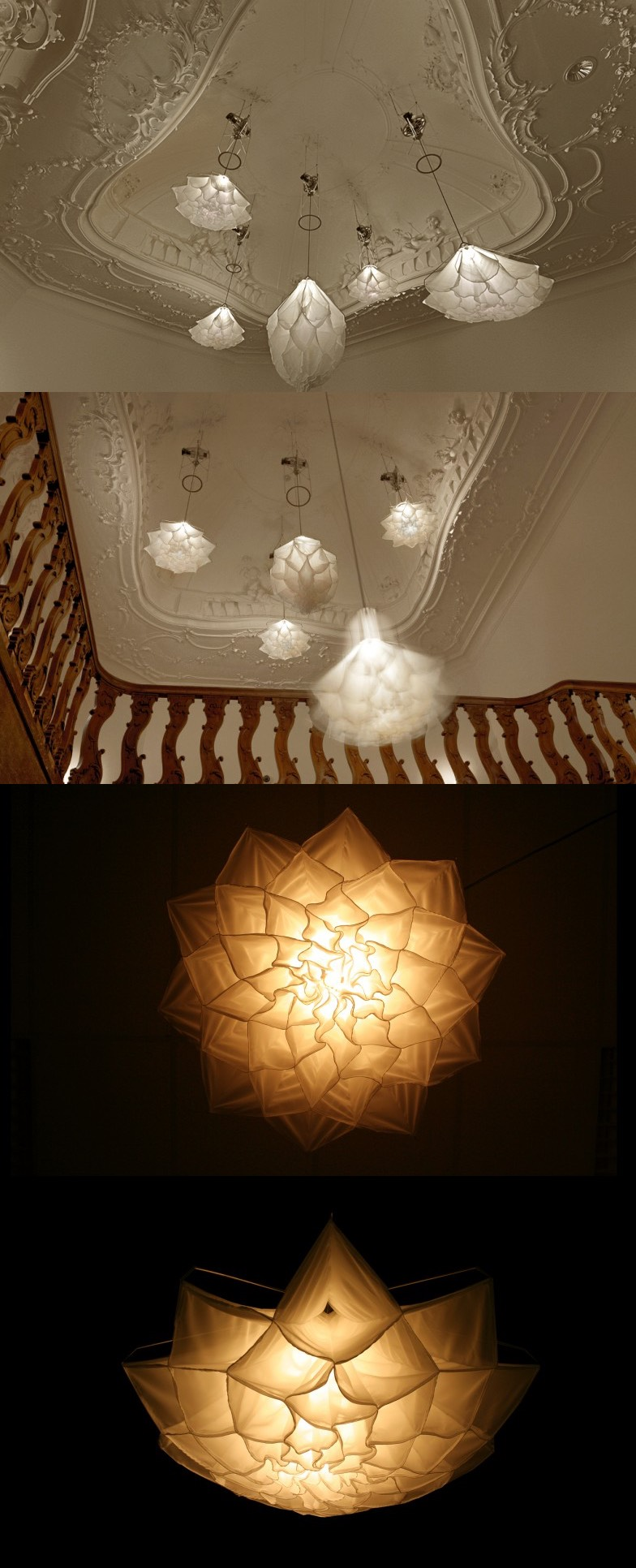 Blooming Light - A set of extraordinary lights