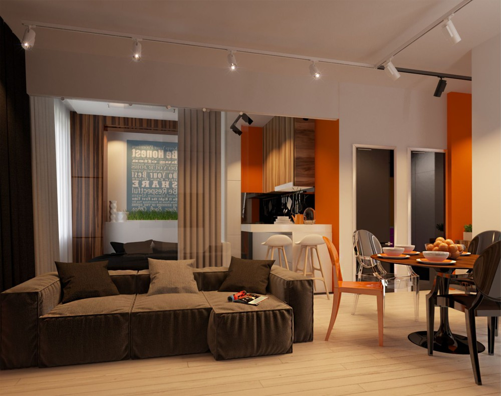 Colorful Apartment Design - Creative apartment designs perfect for young families