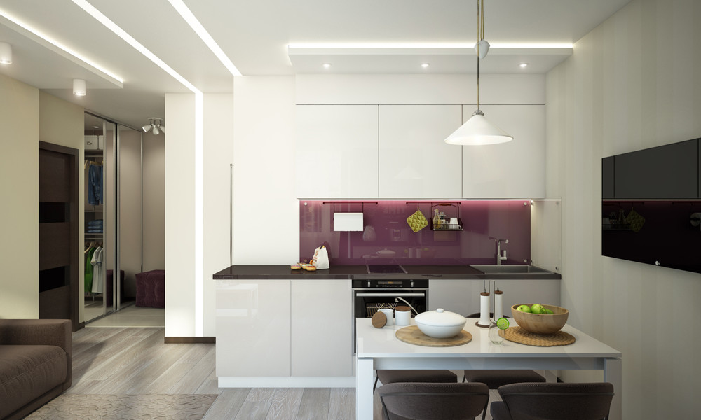 Cozy Apartment Kitchen - Creative apartment designs perfect for young families