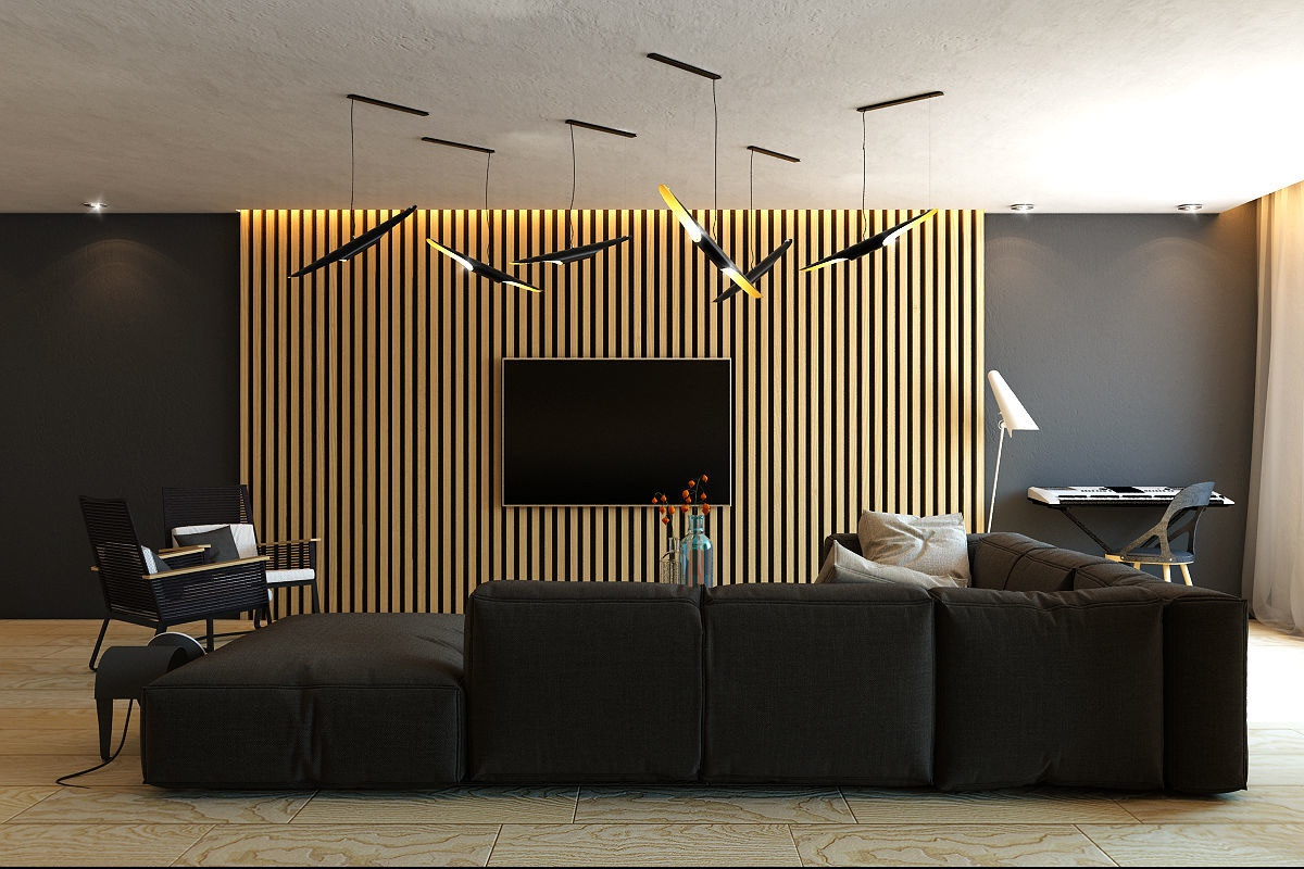 wood slats add texture and warmth to these homes. Black Bedroom Furniture Sets. Home Design Ideas