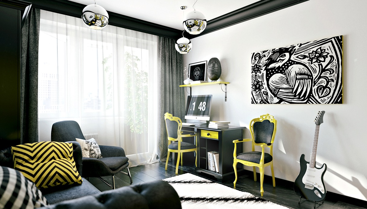 Funky rooms that creative teens would love for Room interior design for teenagers