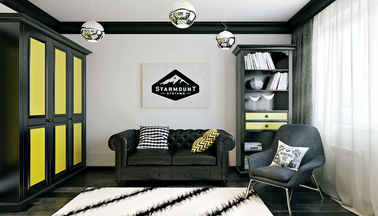 Funky rooms that creative teens would love for Sofa jugendzimmer
