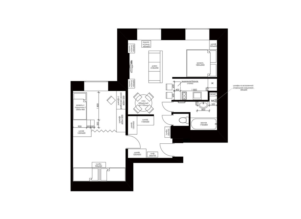 Home Layout - Creative apartment designs perfect for young families