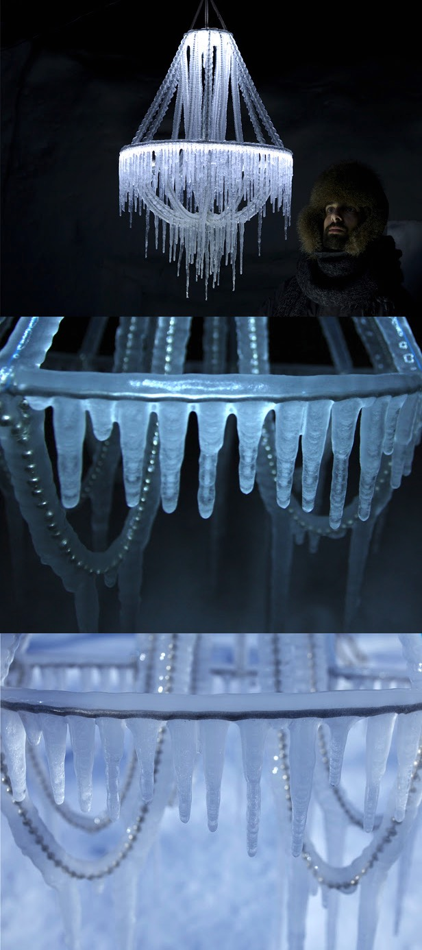 Icicle Chandelier - A set of extraordinary lights