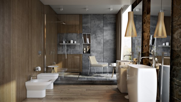 marble-and-wood-bath-design