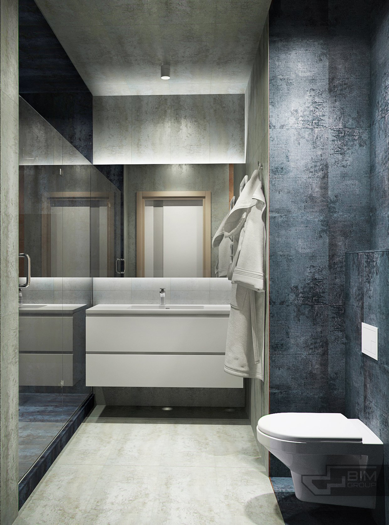 Manly Bathroom Remodel: Sophisticated Kiev Home Makes Creative Use Of Natural