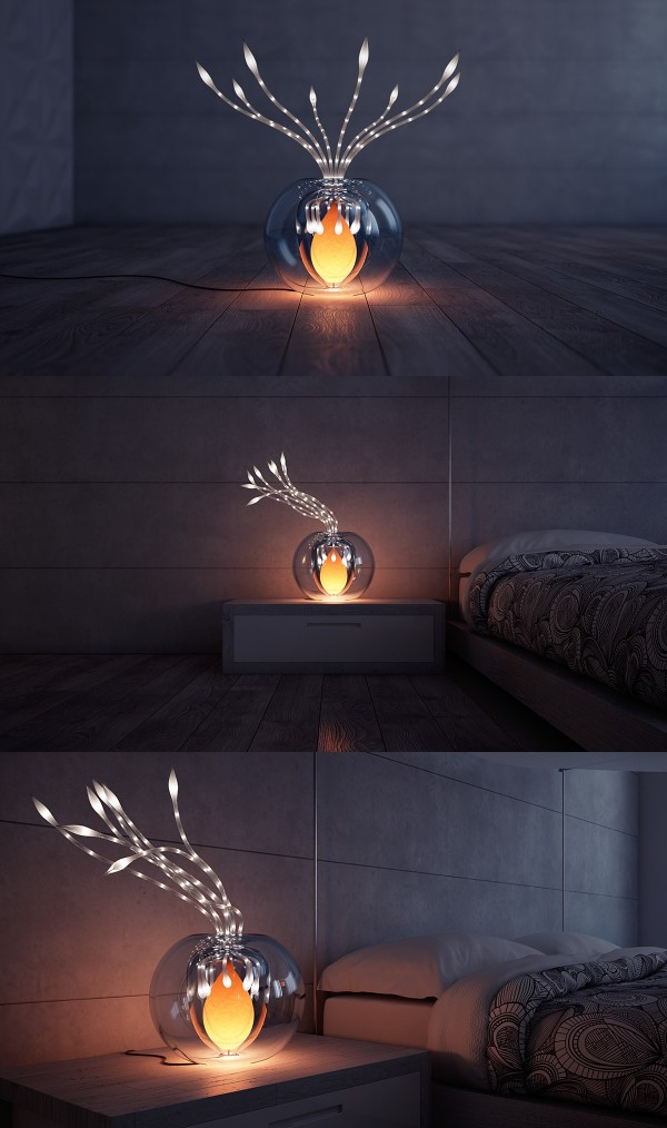 Flexible and etheral, these lights bring soft, soothing atmosphere into any room.