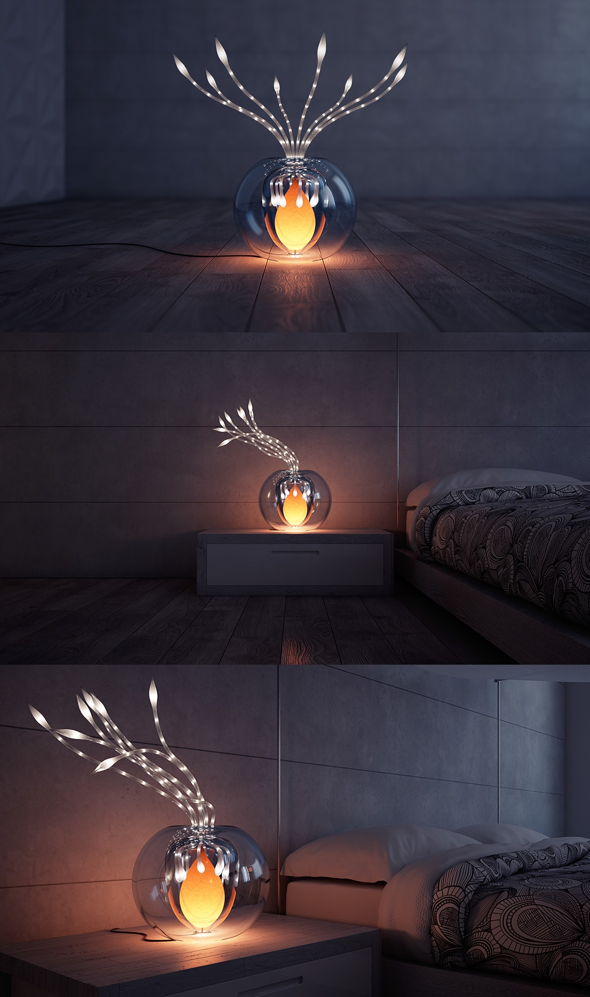Plant Lamp - A set of extraordinary lights