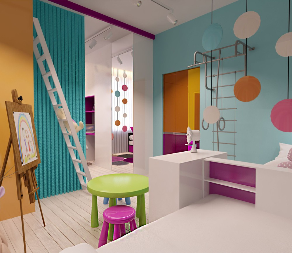 Creative apartment designs perfect for young families - Kids room image ...
