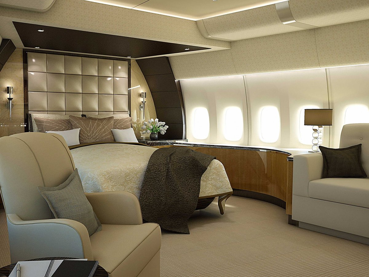 private airplane bedroom interior design ideas