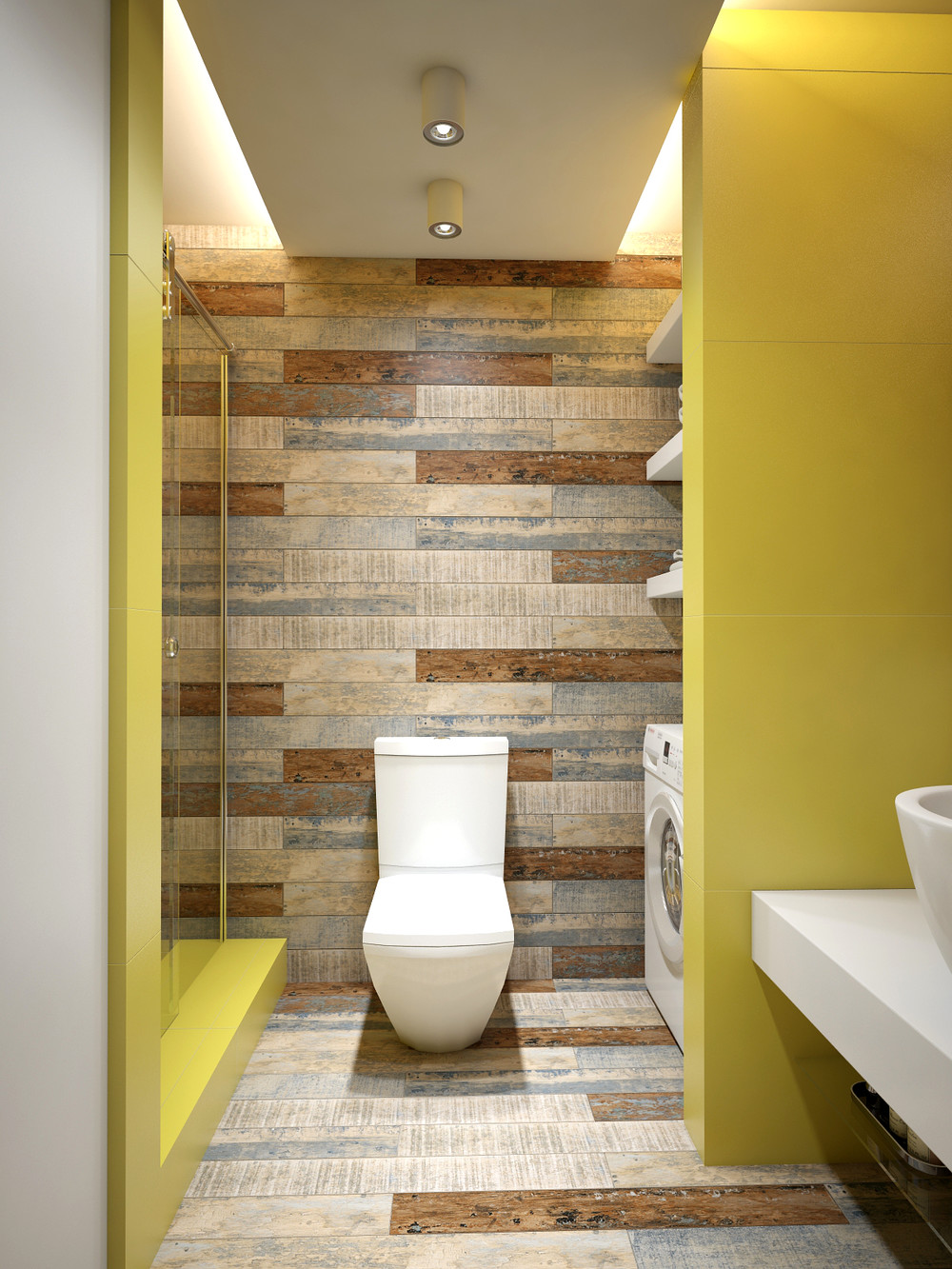 Bathroom Wood Wall Ideas - Interior Design