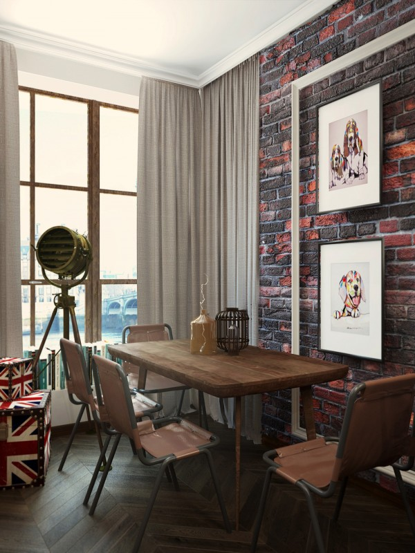 Red Brick Design Interior Design Ideas