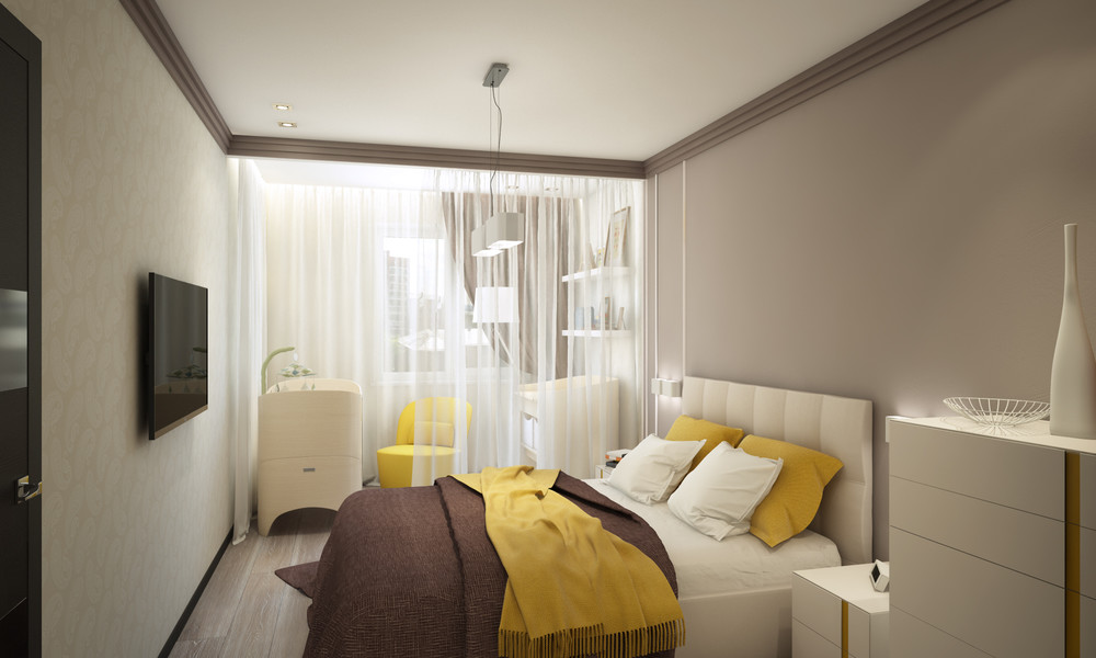 Small Bedroom Design - Creative apartment designs perfect for young families