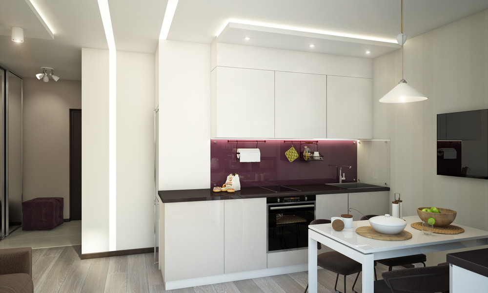 Small Fun Kitchen - Creative apartment designs perfect for young families