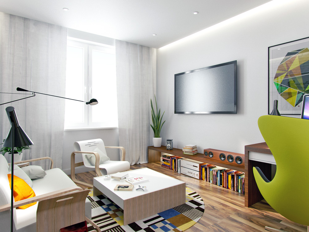 Living Small With Style: 2 Beautiful Small Apartment Plans Under 500 ...