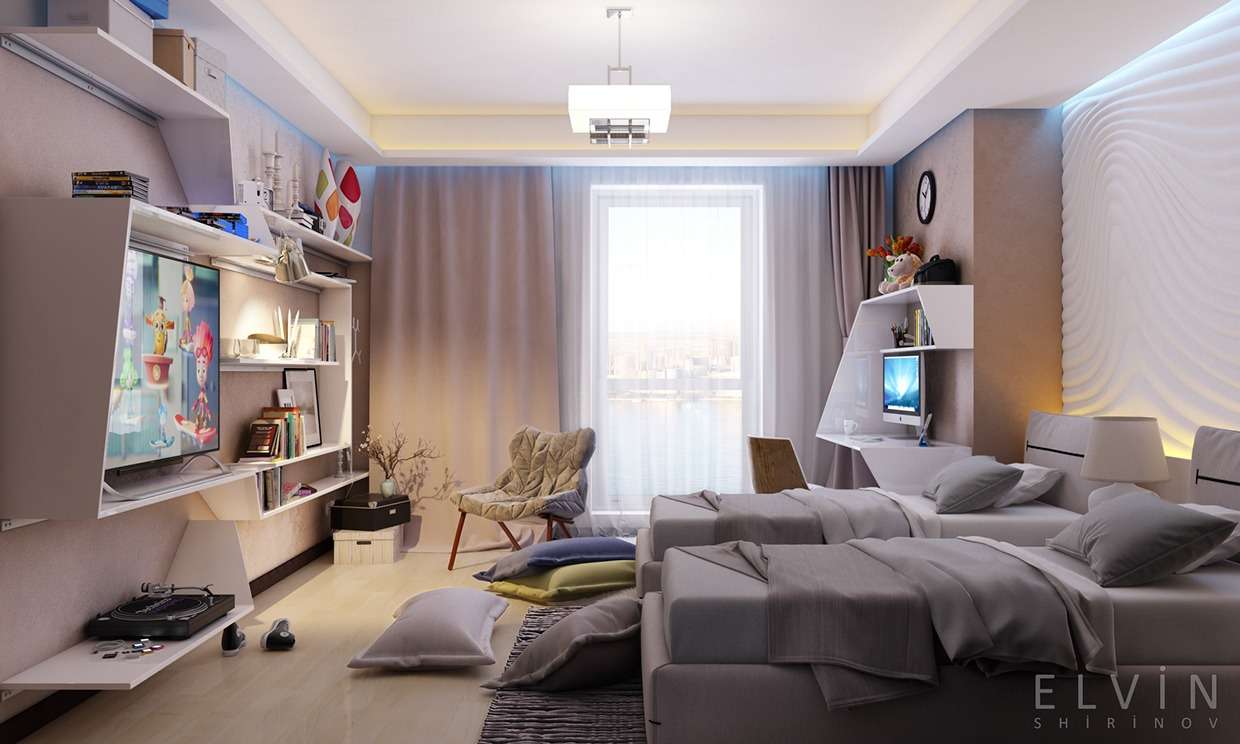 funky rooms that creative teens would love rh home designing com