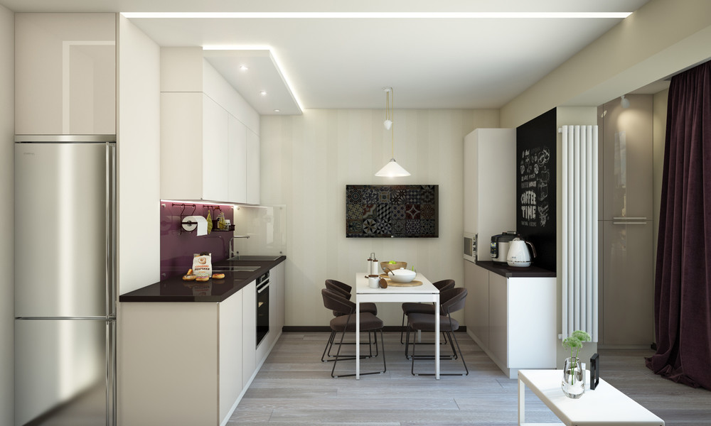 White Interior - Creative apartment designs perfect for young families