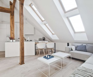 Delightful This Attic Transformation ...