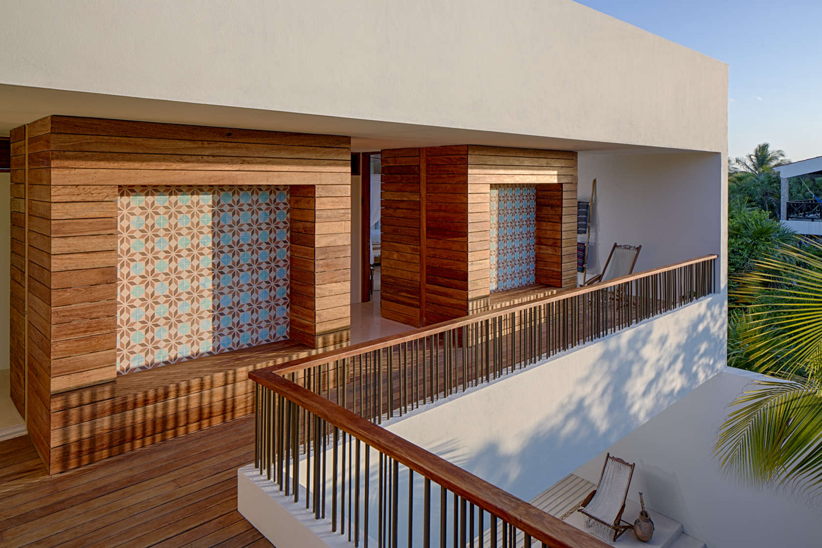 Beach House Exterior - Eco friendly house in mexico does not sacrifice style