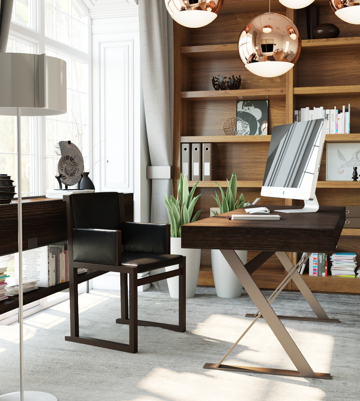 Cool Drafting Table - 3 examples of modern simplicity