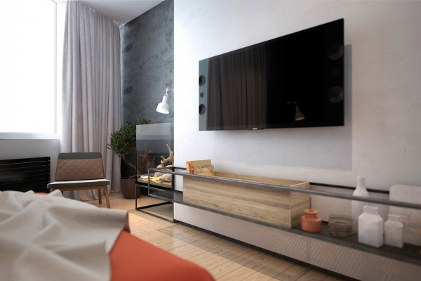 Creative entertainment center design two homes for stylish young families who love the