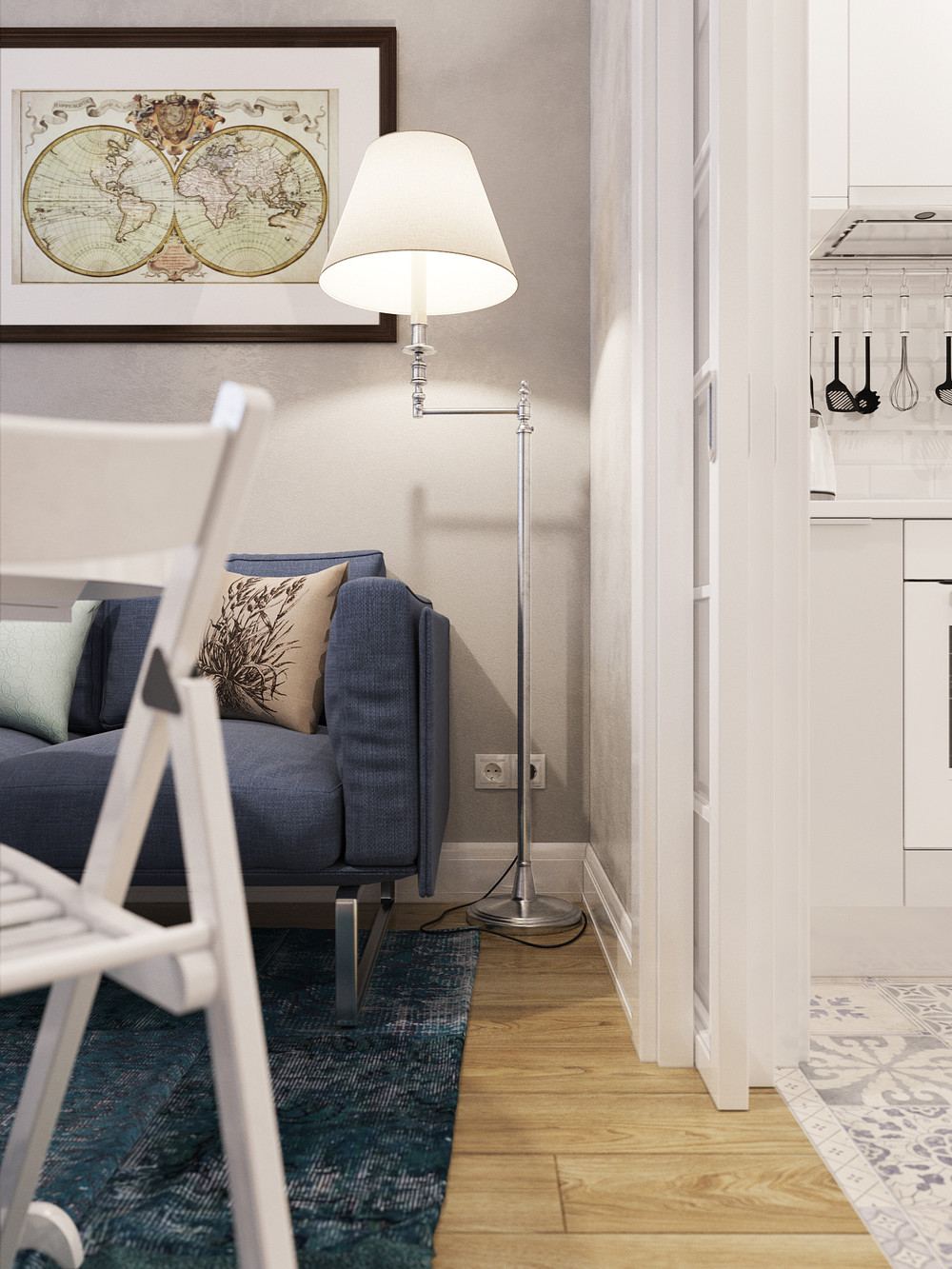Designing For Super Small Spaces: 5 Micro Apartments on