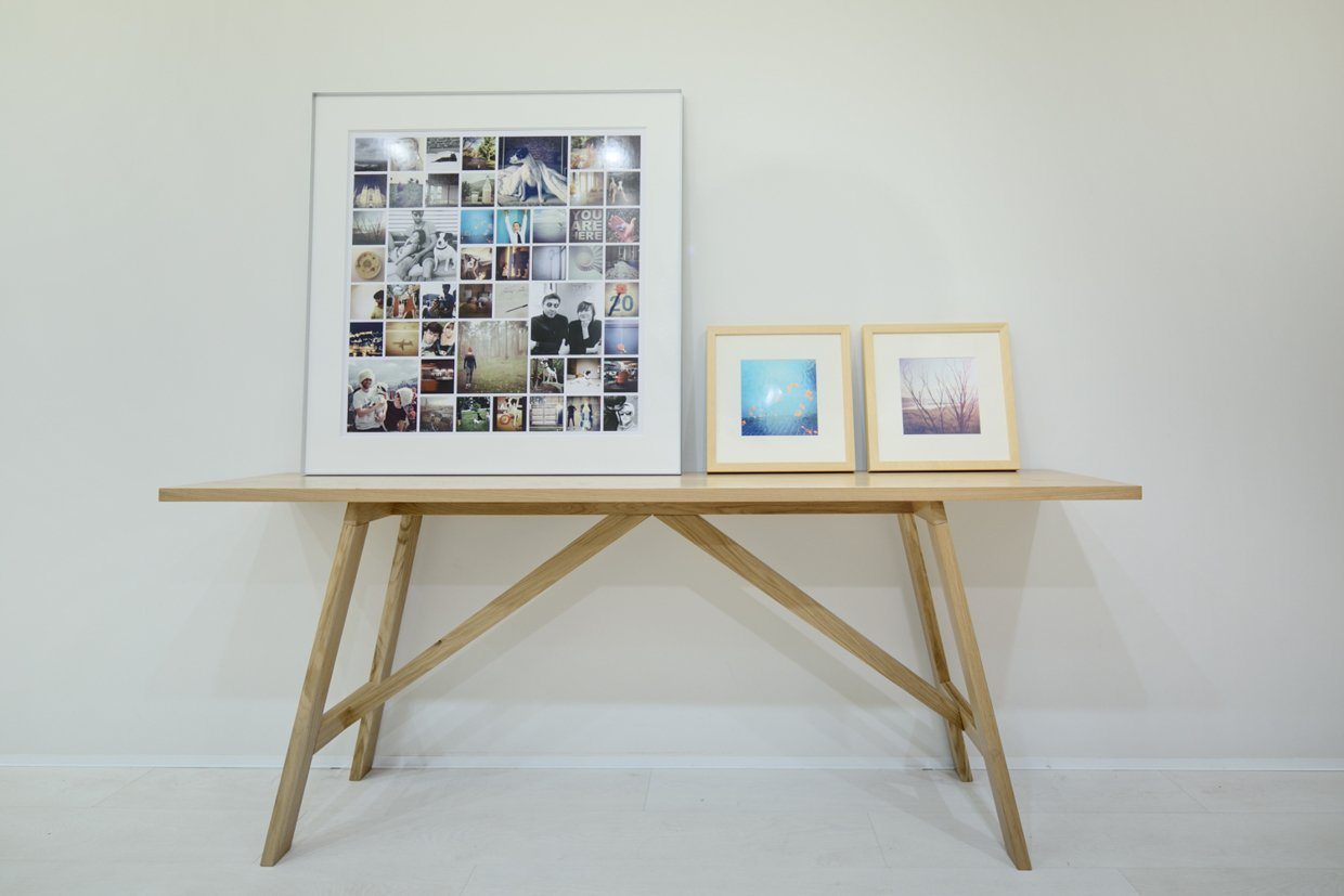 Home Photo Display Ideas - A modern home with personality of perfect for a fun couple