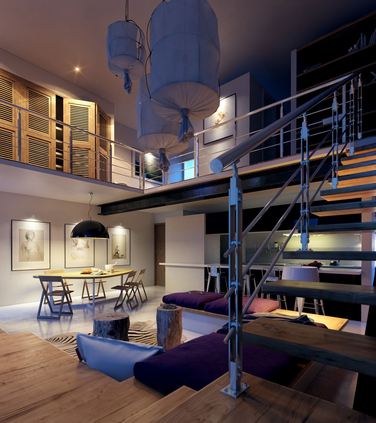 Lofted Luxury