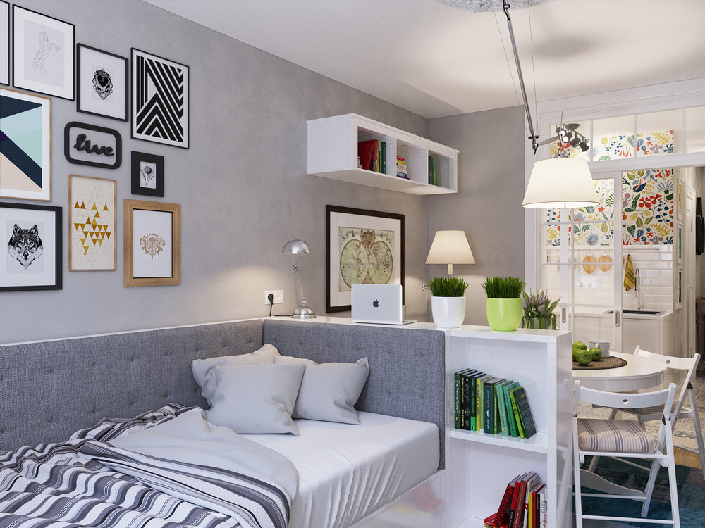 Designing for super small spaces 5 micro apartments - Decoracion apartamentos pequenos ...