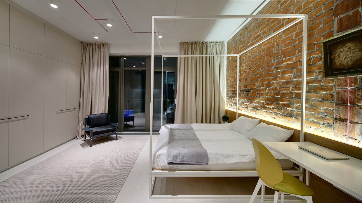 Modern Bedframe - A modern home with personality of perfect for a fun couple