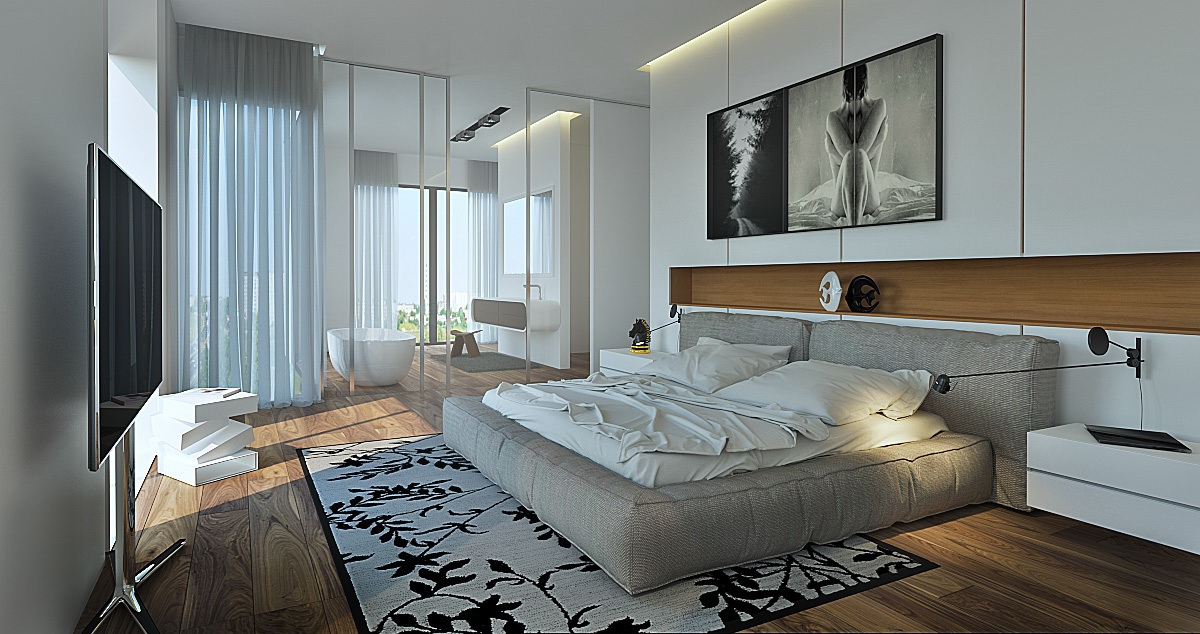 Beautiful bedrooms for dreamy design inspiration for Glamorous bedroom pictures