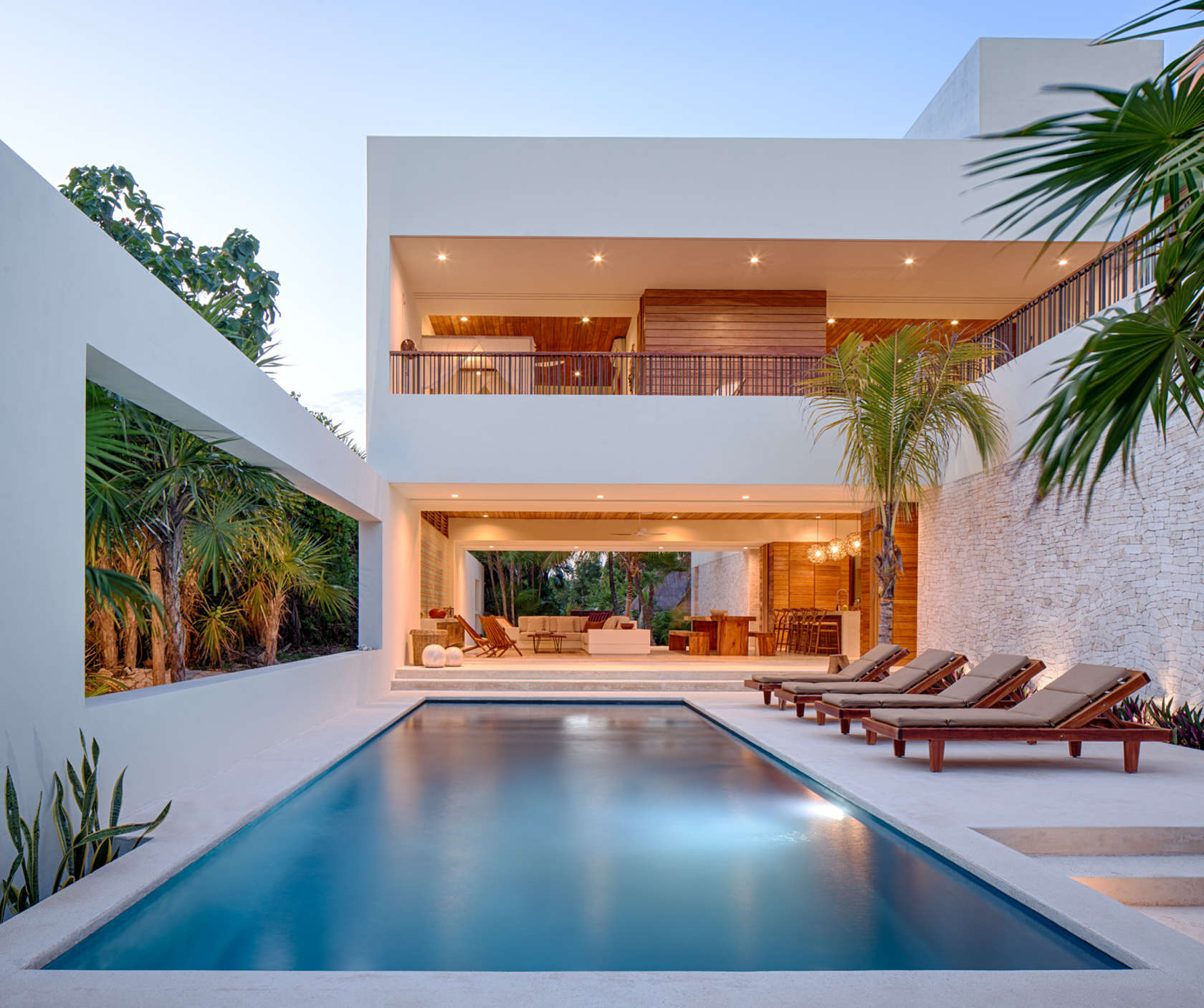 Pool Deck - Eco friendly house in mexico does not sacrifice style