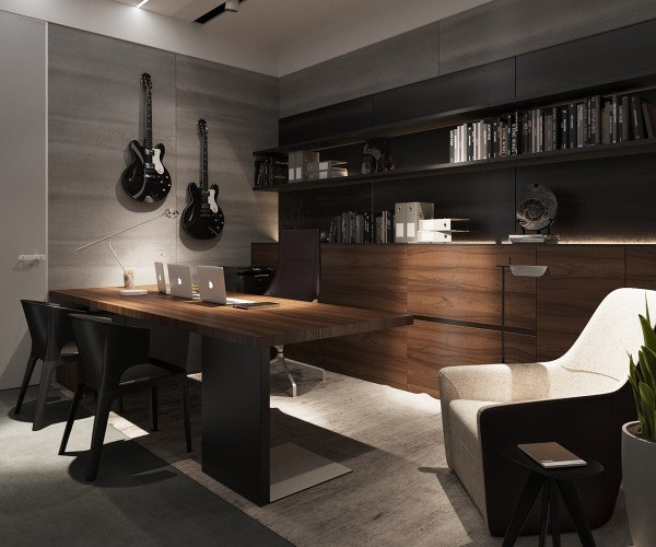 Bachelor Apartment Kitchen Design: 3 Examples Of Modern Simplicity