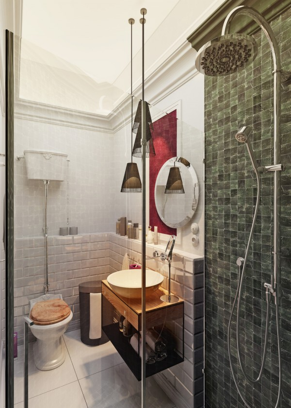 Designing for super small spaces 5 micro apartments for Super small bathroom