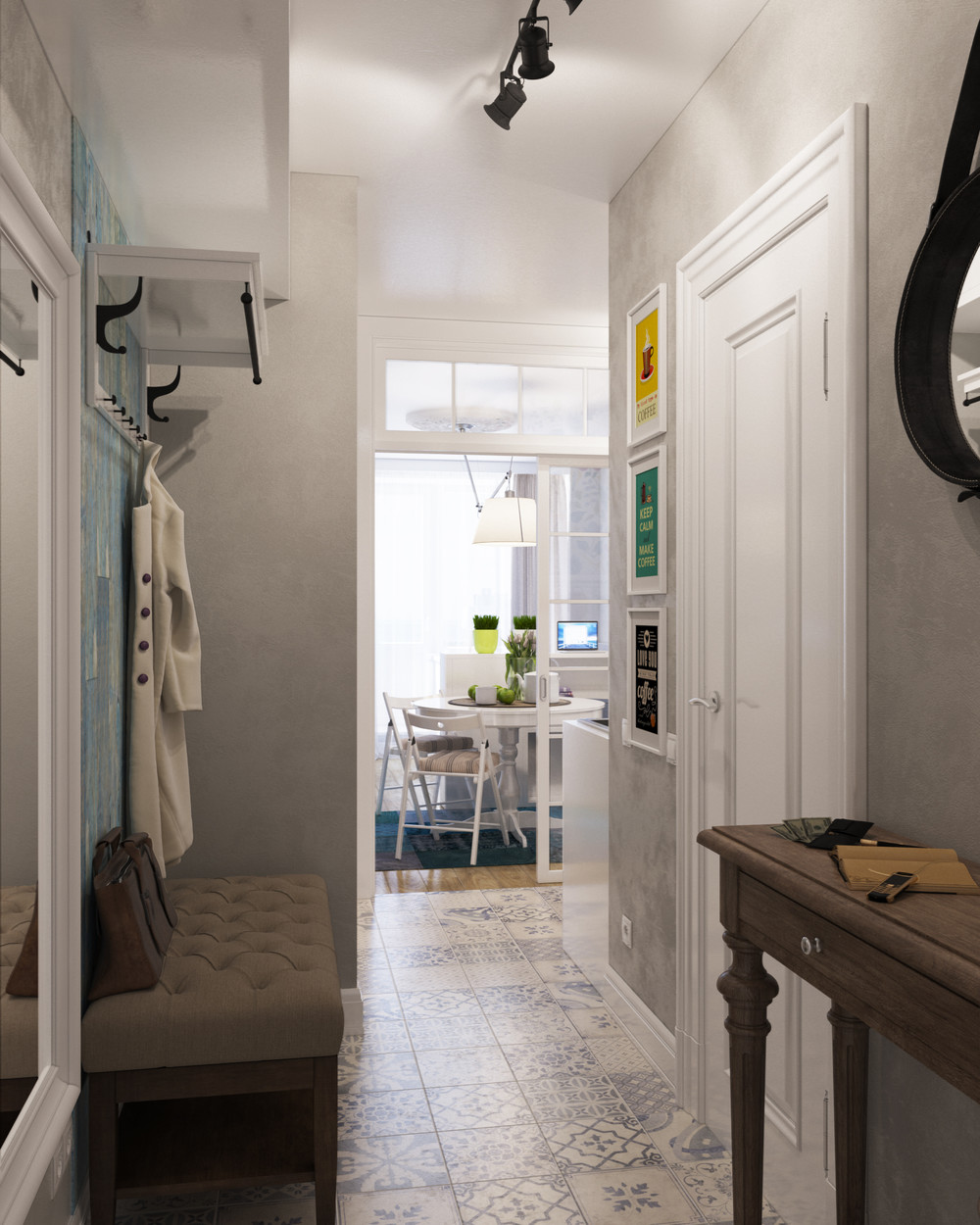 Designing for super small spaces 5 micro apartments - Corridor decoratie ...