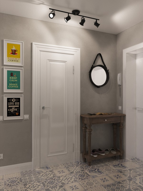 small foyer decor