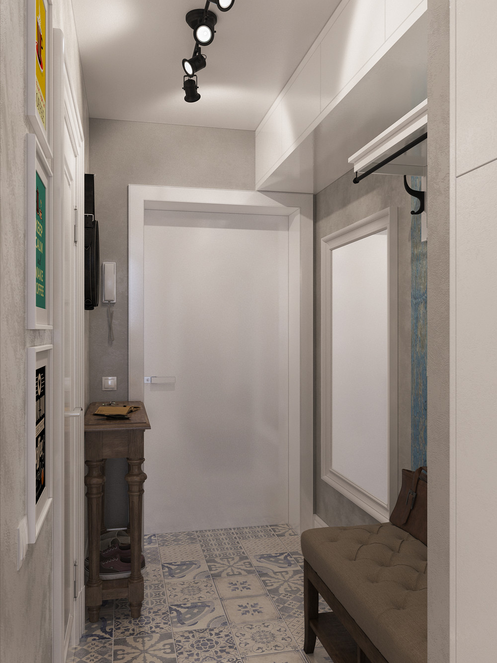 Foyer Design Plans : Designing for super small spaces micro apartments