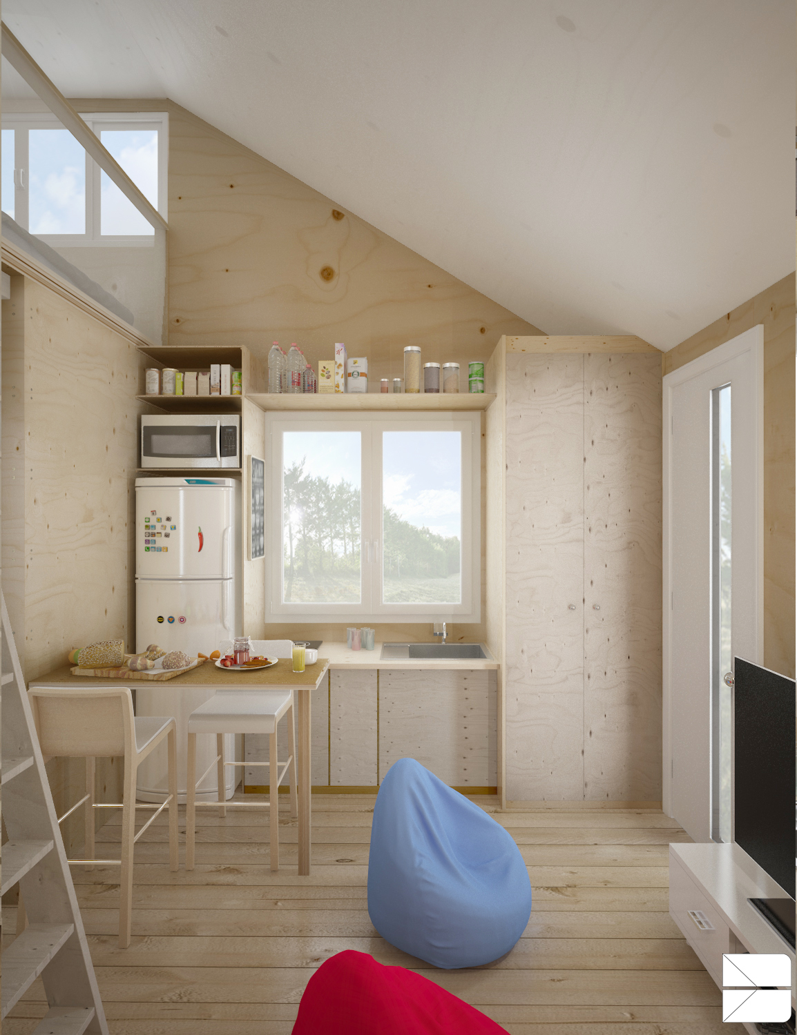 designing for super small spaces 5 micro apartments - Apartment Design For Small Spaces