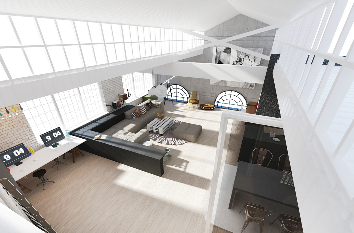 Beautiful Loft Homes Designs Photos - Home Decorating Ideas ...